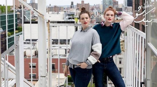 زنان سایز بزرگ و لباس های اختصاصی برند mango