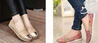 مدل های کفش روباز و کالج زنانه بهار و تابستان فوق العاده شیک