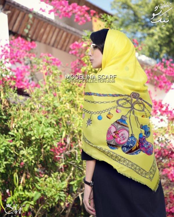 جدیدترین مدل های شال و روسری برای خانم های خوش استایل