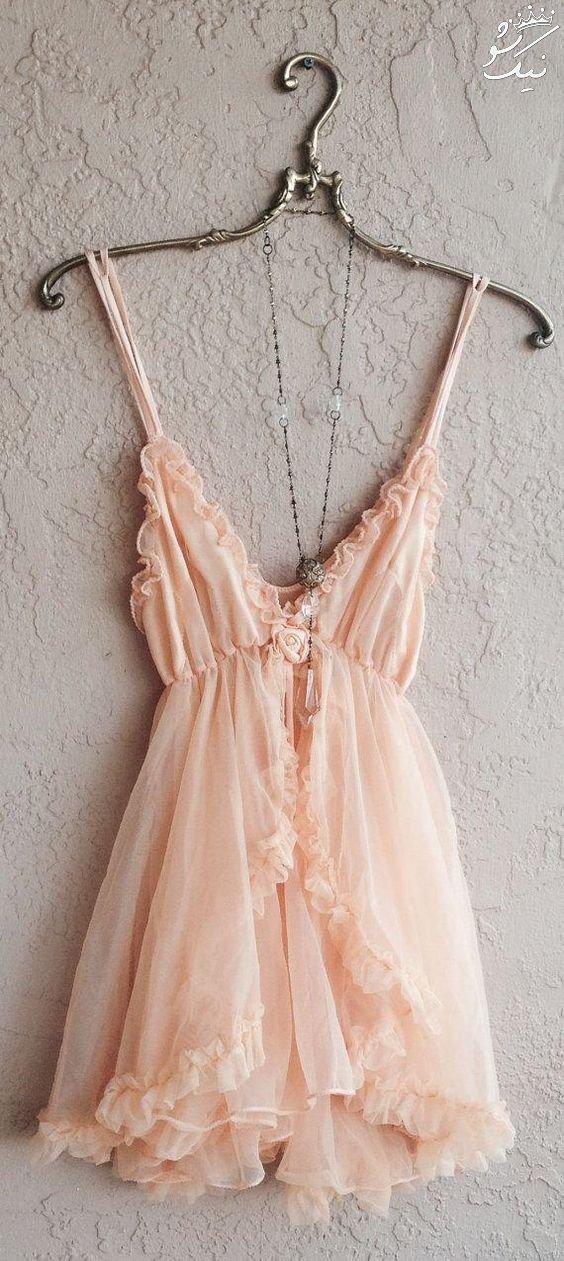 لباس خواب زنانه, لباس خواب توری مخصوص عروس خانم ها