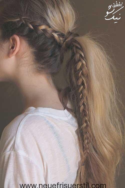 مدل مو دم اسبی برای دختر خانم های جوان و جذاب