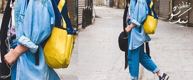 ست مانتو و شلوار جین برای خانم های خوش استایل