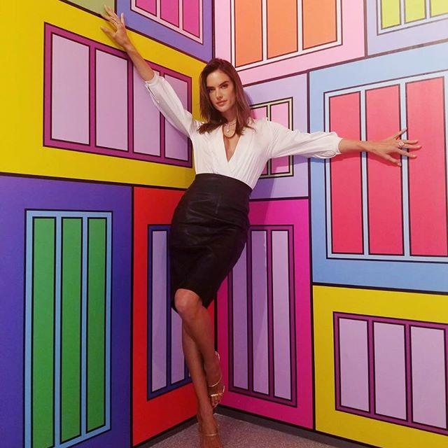 اینستاگردی با الساندرا آمبروزیو سوپر مدل مشهور برزیلی