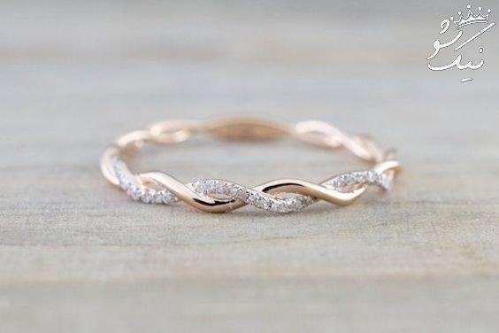 مدل حلقه طلا، حلقه ست ازدواج ،مدل حلقه ازدواج لاکچری