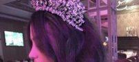 با این مدل های تاج عروس خواستنی و زیبا شوید
