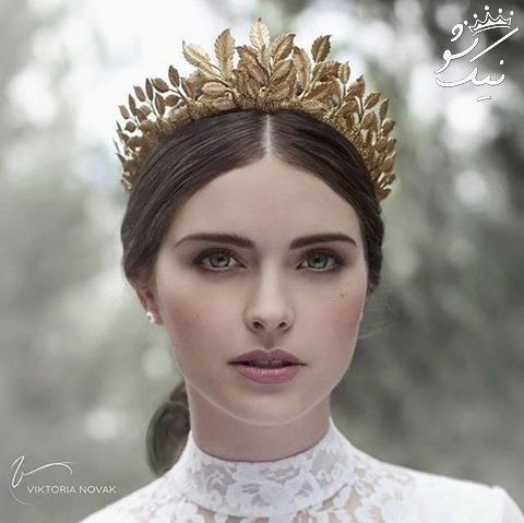 مدل مو با تاج عروس ،مدل تاج عروس 2021