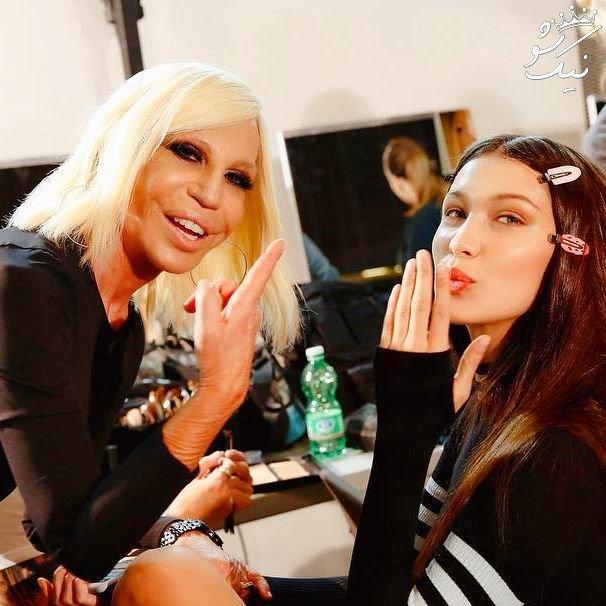 گفتگو با جی جی حدید و بلا حدید خواهران سوپر مدل
