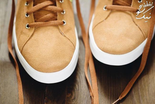 چگونه کفش های مان را تمیز کنیم؟