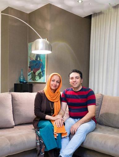 دکوراسیون شیک و زیبای زوج کرجی با 25 میلیون تومان