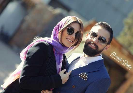 وقتی محسن افشانی اندام بیرون زده همسرش را نشان می دهد +فیلم