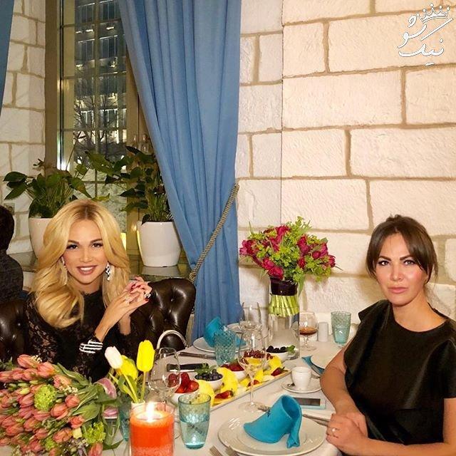 همراه با ویکتوریا لوپیروا Victoria Lopyreva مانکن سفیر جام جهانی