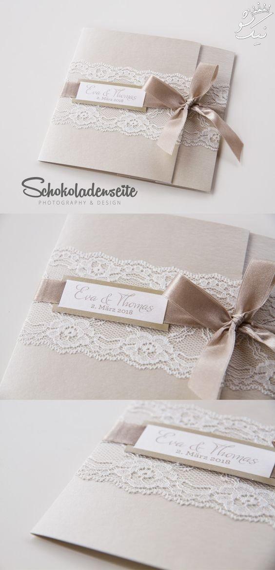مدل های زیبایی از کارت عروسی