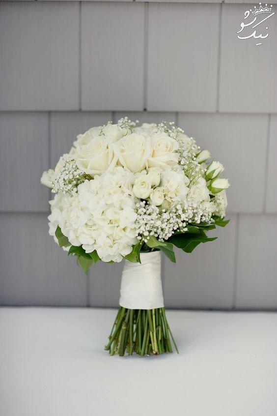 فوق العاده ترین مدل های دسته گل عروس اروپایی