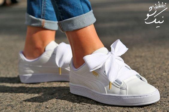 مدل های کفش اسپرت دخترانه لاکچری مد امسال
