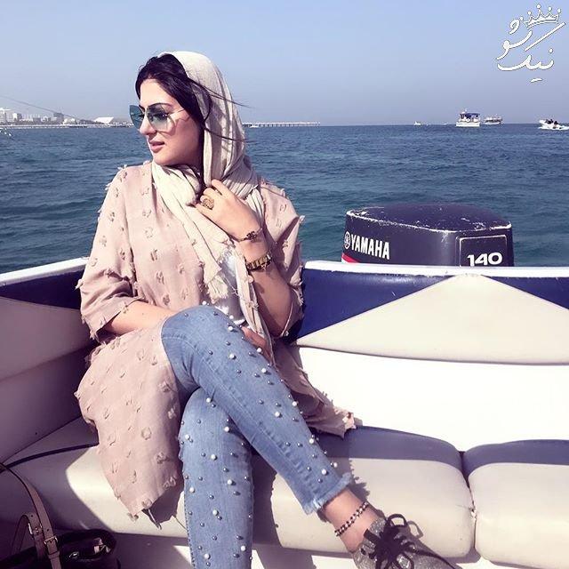 همراه با هلیا امامی بازیگر ایرانی +عکس همسر