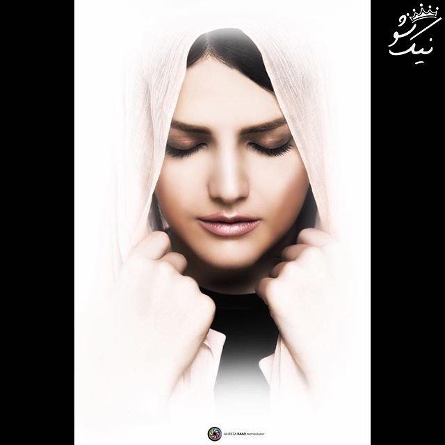 همراه با مهشید مرندی بازیگر ایرانی +عکس همسر