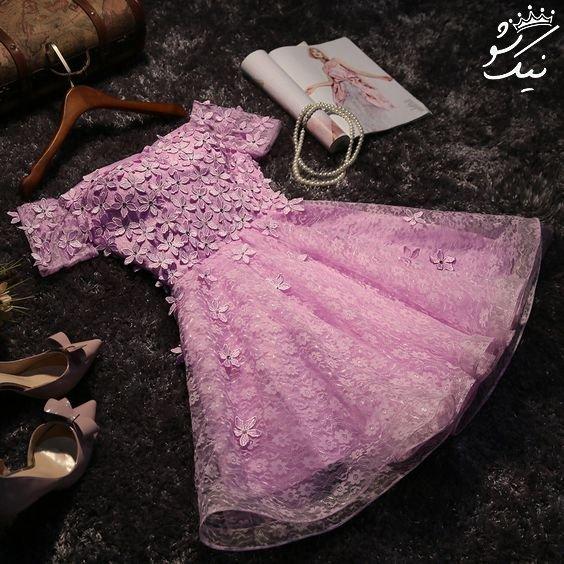 مدل لباس مجلسی شیک دخترانه کوتاه و بلند 2020