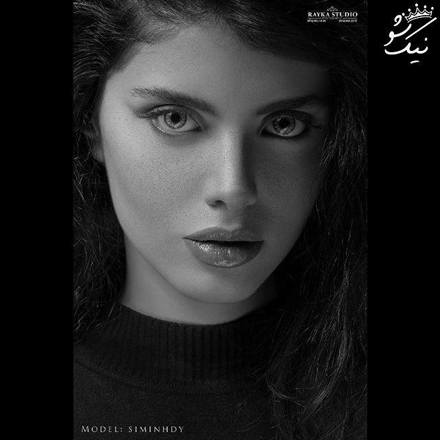 عکسهای اینستاگرام سیمین حیدری مدلینگ ایرانی