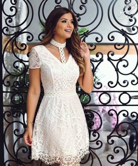 جذاب ترین مدل های لباس مجلسی سفید | کوتاه و بلند