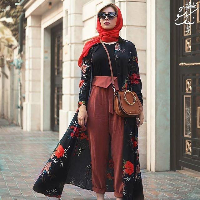 مدل های مانتو شیک خانم های خوش استایل ایرانی
