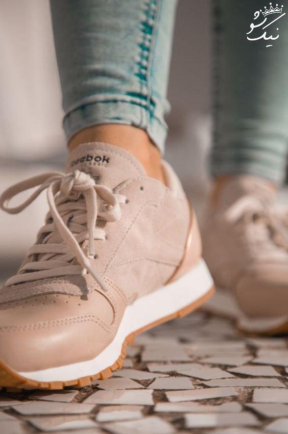 مدل کفش دخترانه اسپرت 2021 که حسابی مد شده
