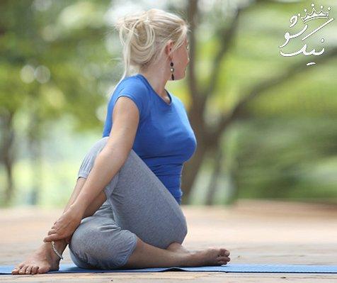 حرکت های مفید یوگا برای درمان بی خوابی