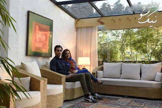 نگاهی به دکوراسیون زیبای خانه زوج شیرازی