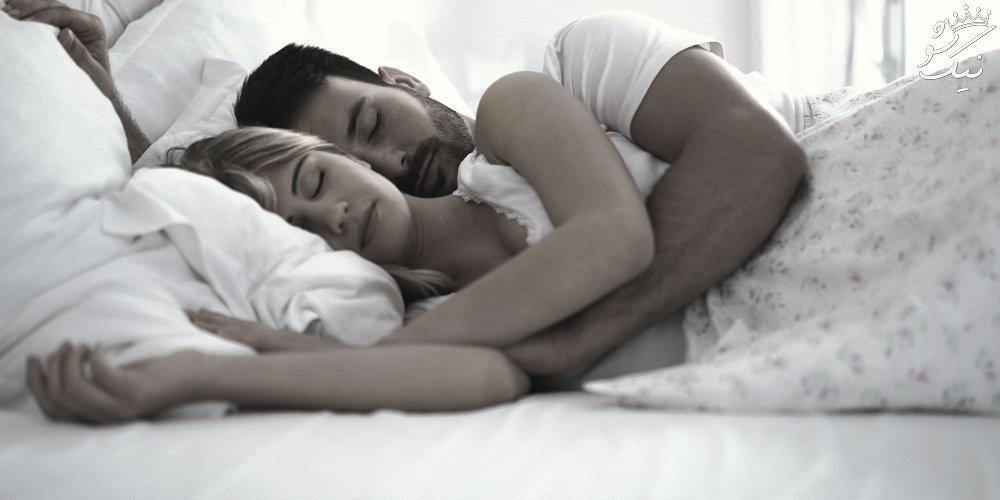 نحوه انجام پوزیشن قاشقی رابطه جنسی تصویری