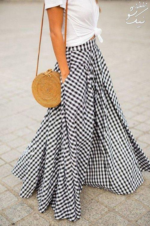 بهترین پیشنهادها برای ست لباس چهارخانه خانم ها