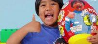 درآمد ۲۲ میلیون دلاری رایان ،کودک هفت ساله در یوتیوب