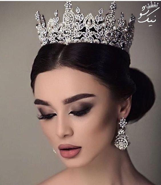 تاج عروس مدل ملکه ای 2021
