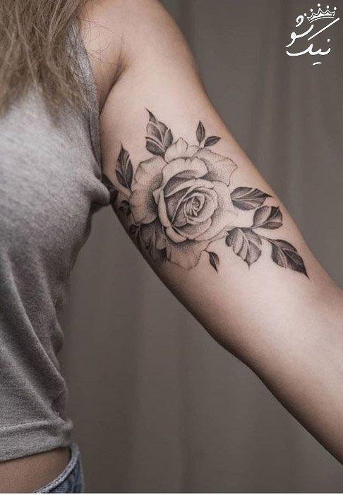 مدل تاتو روی بدن دخترانه   خالکوبی دست ، پا ، بازو و سینه