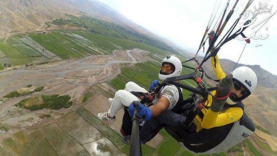 تفریحات هوایی در تهران ،اوج لذت و هیجان