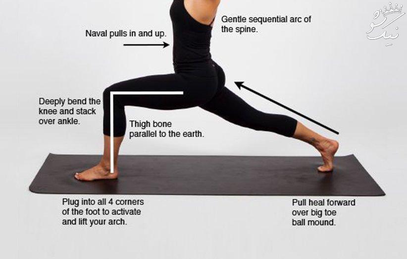 لاغر كردن ران و ساق پا با ورزش +عکس و فیلم