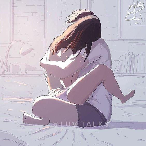 عکس کارتونی دخترانه | عکس عاشقانه کارتونی