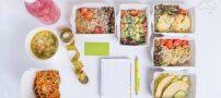 برنامه غذایی هفتگی برای زنان خانه دار