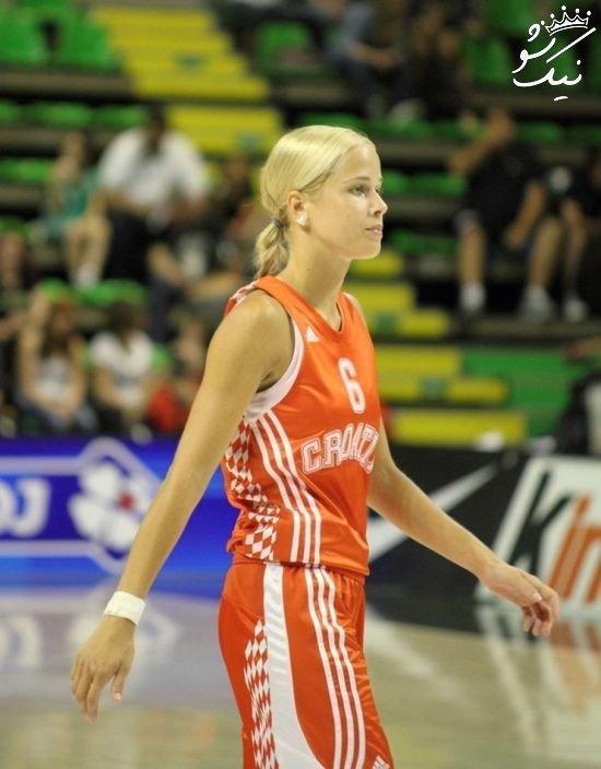 آنتونیا سندریچ زیباترین دختر بسکتبالیست جهان