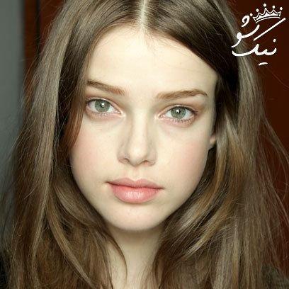 زیباترین دختران بدون آرایش | جذابیت واقعی اینجاست