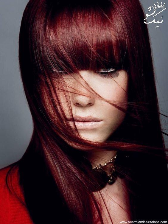 رنگ موی ماهاگونی | فرمول ترکیب | مدل های جذاب