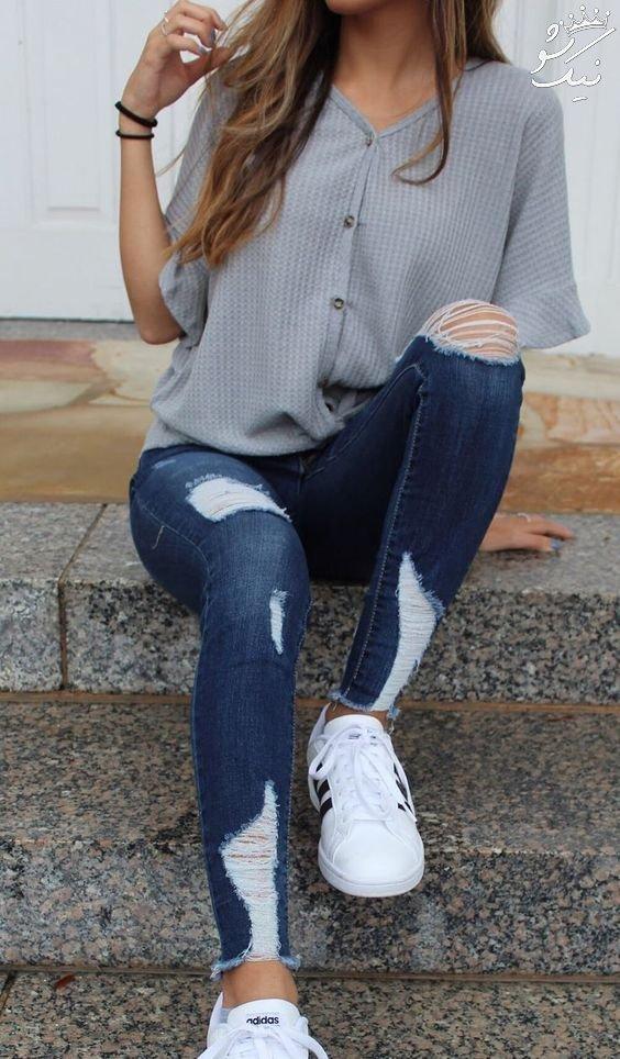 شلوار زاپ دار دخترانه | 60 مدل جذاب و شیک