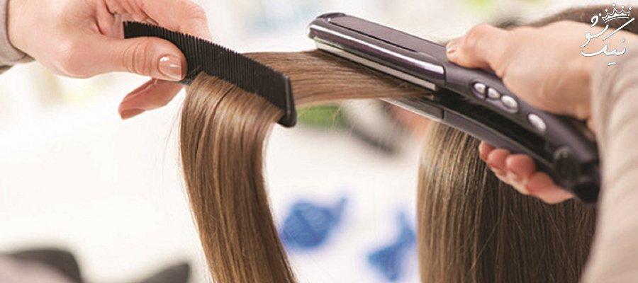 خرید و فروش موهای زنانه که برای گذران زندگی به فروش می روند