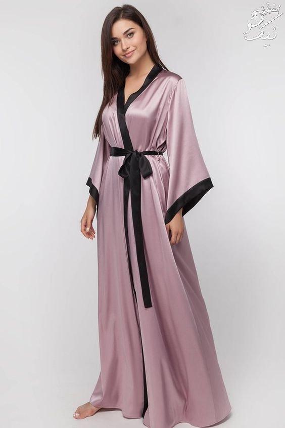 لباس خواب زنانه ساتن | مدل های روز خارجی 2021