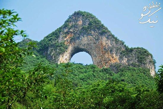 معرفی زیباترین طاق های صخره ای در دنیا