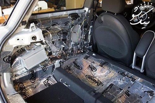 صداگیری خودرو چیست؟ | صداگیری اتاق و داشبورد