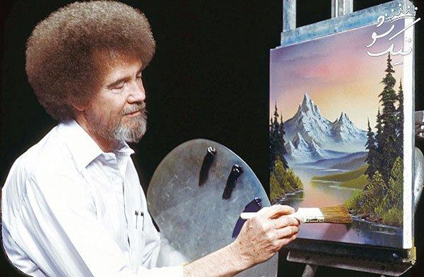 نقاشی های باب راس مشهور الان کجا هستند؟