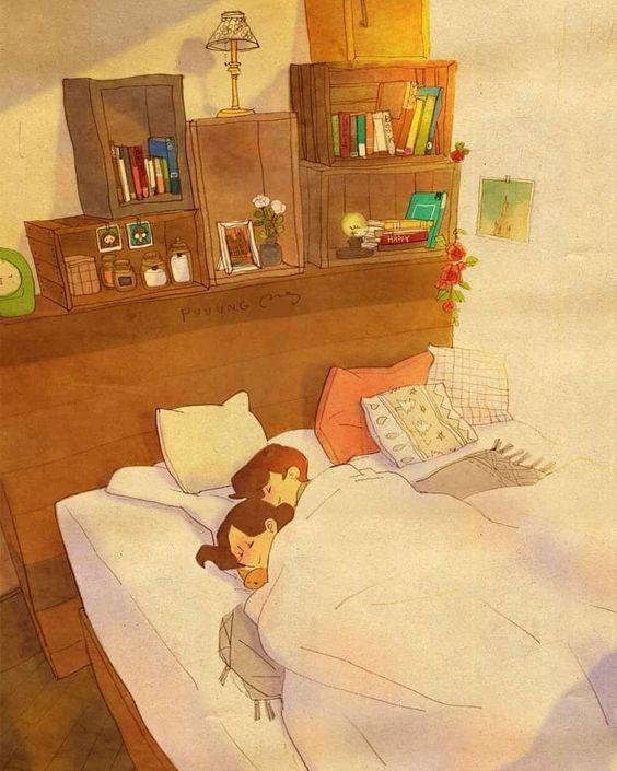 50 عکس کارتونی عاشقانه | عکس پروفایل کارتونی دختر