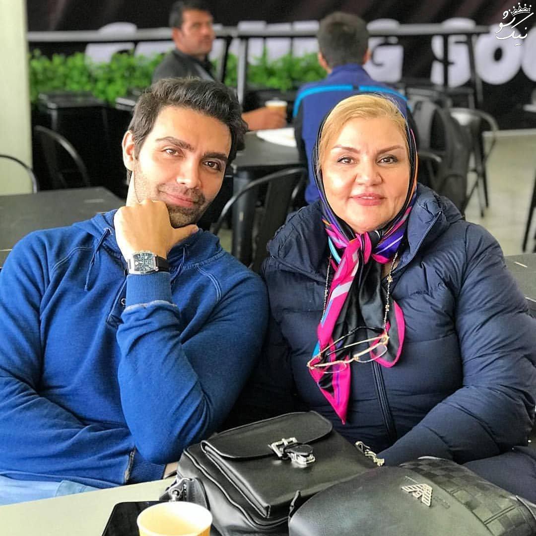 عکس های بازیگران ، همسر الهام حمیدی و استایل مریم مومن