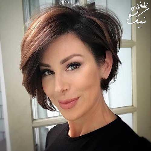 بهترین مدل موی کوتاه دخترانه مد سال 2021
