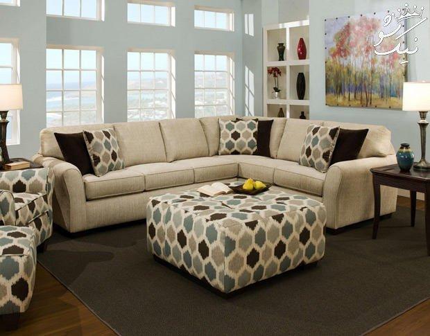 راهنمای انتخاب رنگ مبل و فرش | ست پرده و فرش