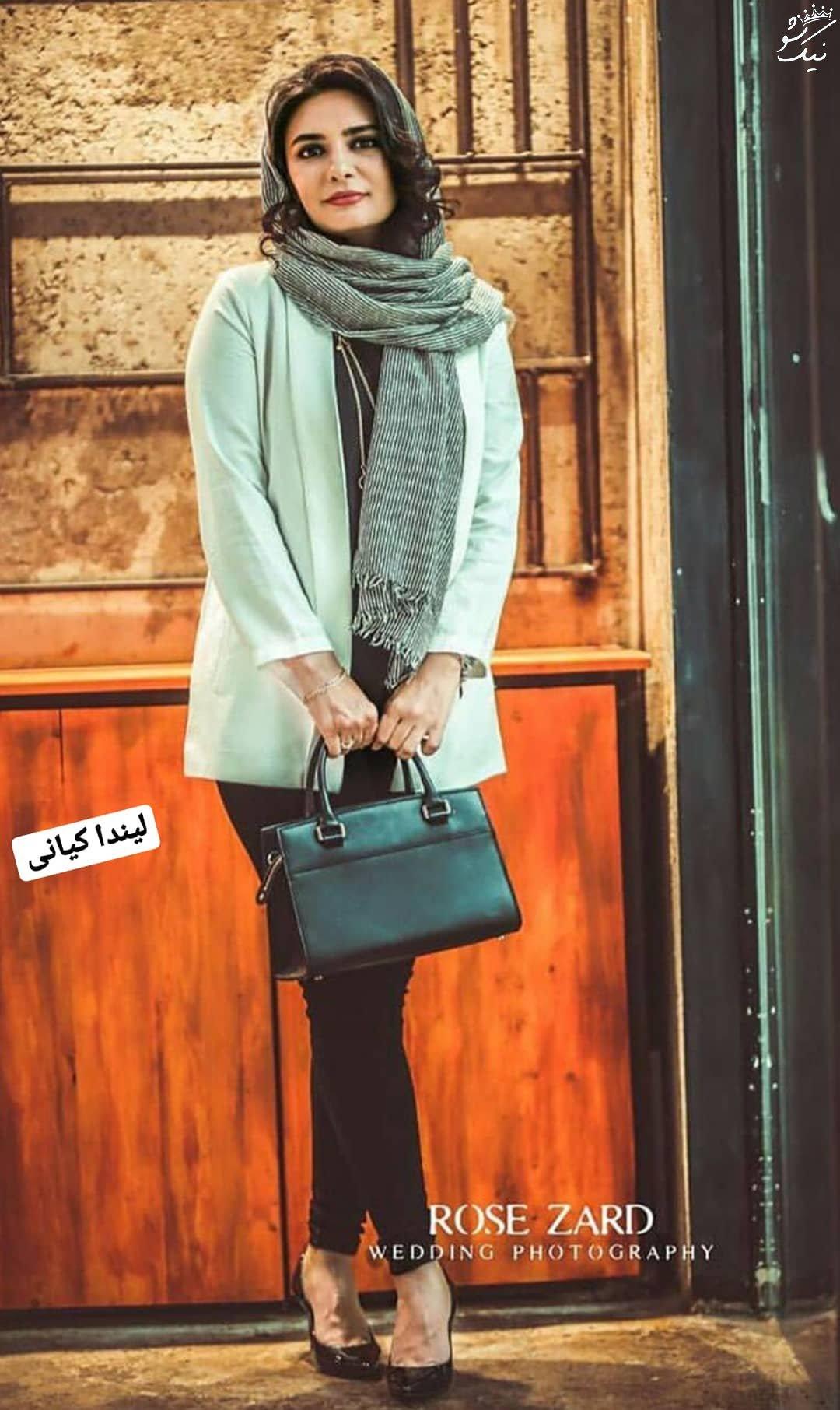 مدل های مانتو لیندا کیانی در اینستاگرام